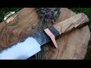 Knifemaking ~ Sheepsfoot knife from an old bearing