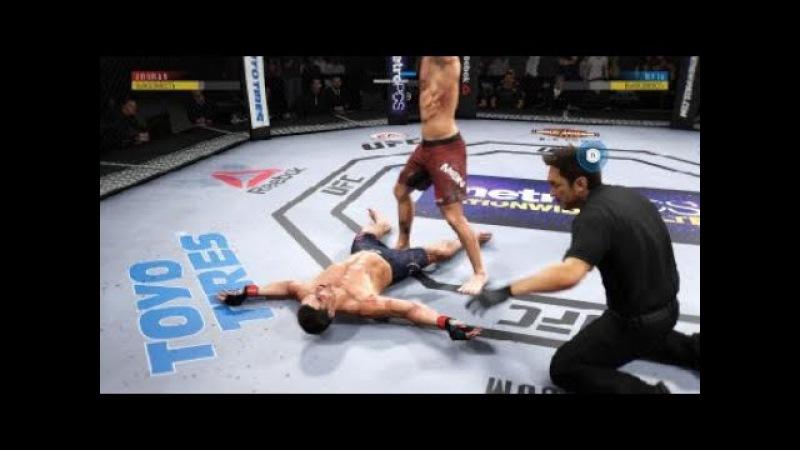 JFL 1 WETLERWEIGHT Alan Jouban - lovehatehero32 vs Jordan Mein - Aquella