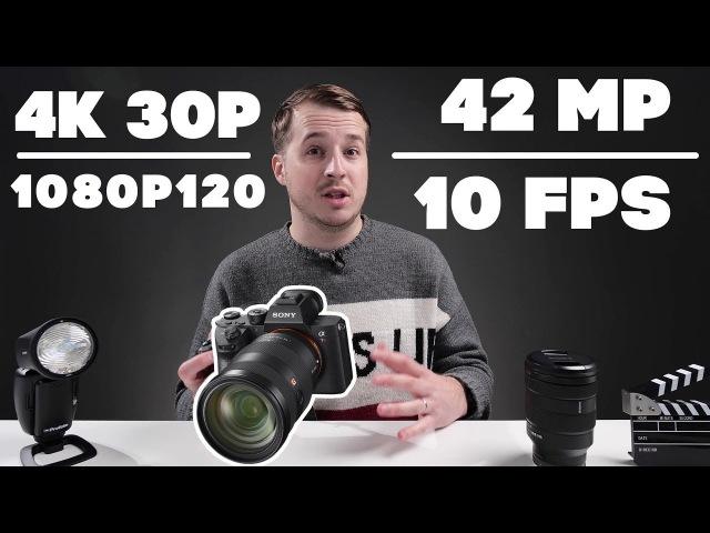 Sony a7R III - Обзор камеры года