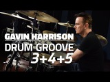 Gavin Harrison Grooving With 3's 4's and 5's - Drum Lesson (Drumeo)