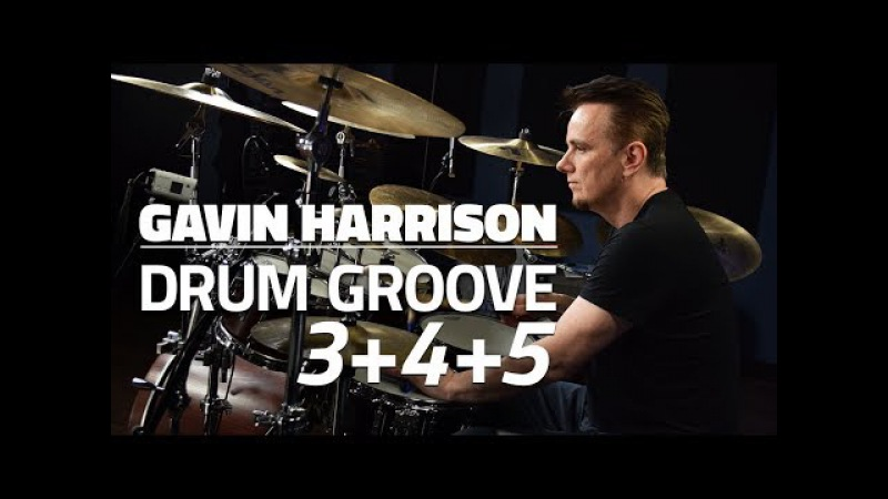 Gavin Harrison Grooving With 3s 4s and 5s - Drum Lesson (Drumeo)