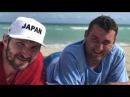 Как Александр Овечкин в кепке Japan отдыхал в Майами и кормил чаек (сториз Овечкина)