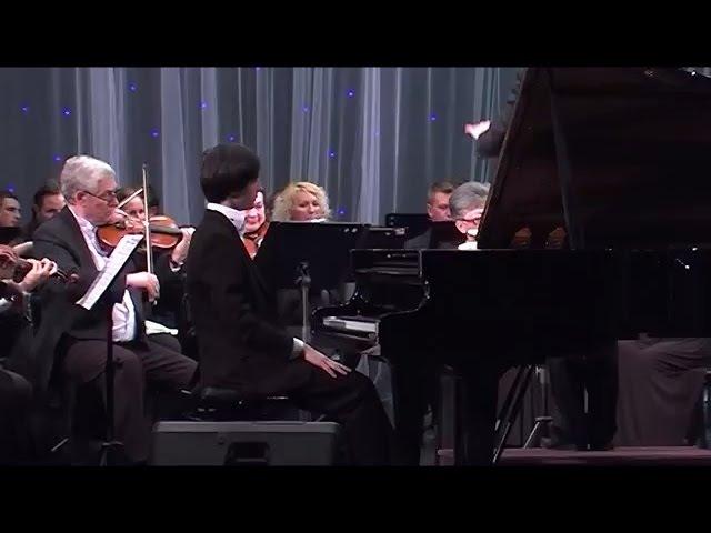 С.Рахманинов Второй концерт op.18 - исп. Николай Кузнецов и Луганский симфонический оркестр