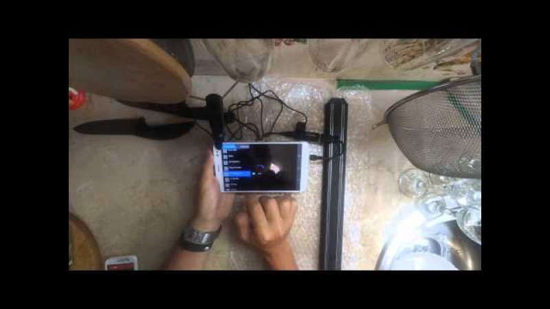 Demo MyGica T230 DVB-T2 Tuner on android / RU lang