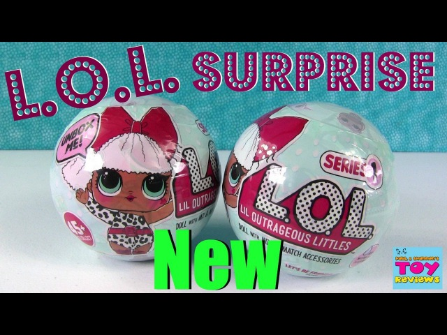 L.O.L. Surprise Ball Baby Doll 7 Layers Of Fun Color Change Cries | PSToyReviews