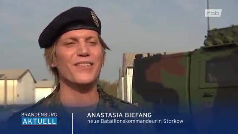 Flinten- Uschis bunte Gurken- Truppe_ Bundeswehr- Batallion bekommt eine transsexuelle Kommandeurin!