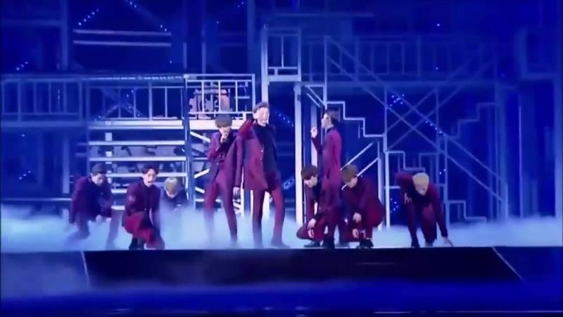EXO - Hurt LIVE (Eng_Greek subs)
