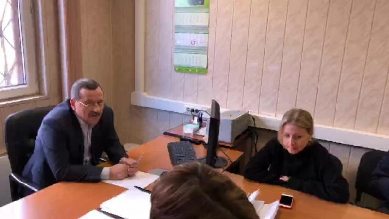 Встреча с новым директором ПИП «Москворецкий» 23.03.18
