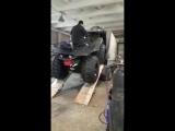 Якутский самодельный квадроцикл