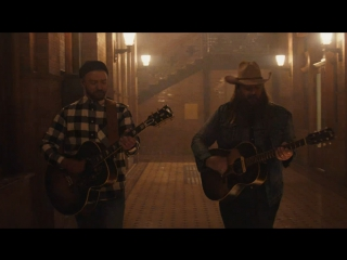 Премьера. justin timberlake feat. chris stapleton - say something
