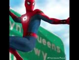 Костюм Человека-Паука! Человек-паук Возвращение домои