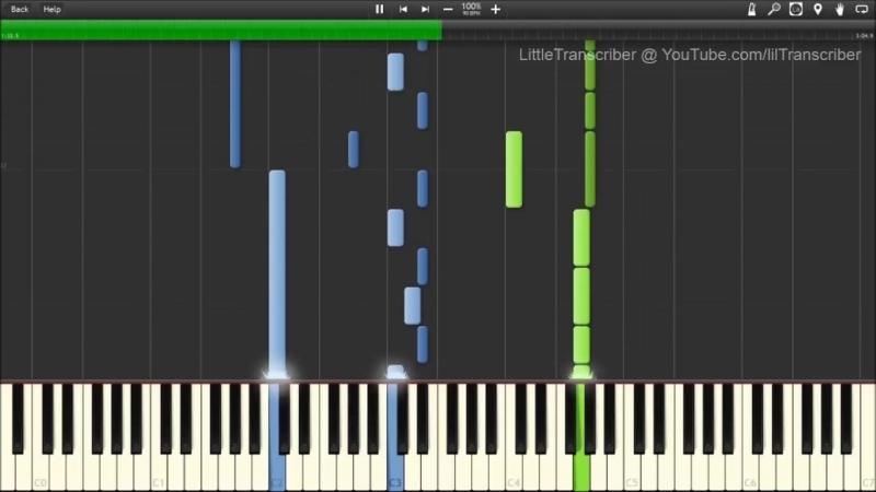 [LittleTranscriber] Imagine Dragons - Demons (Piano Cover) by LittleTranscriber