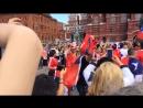 Болельщики сборной Чили на Красной площади