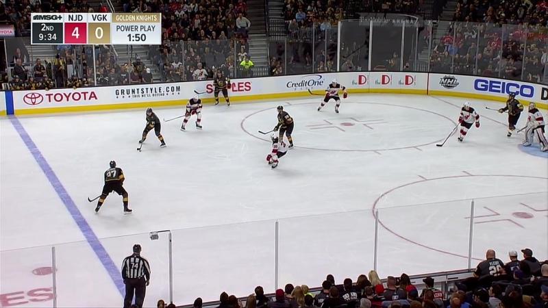 NHL 2017-18 / RS / 14.03.2018 / New Jersey Devils vs Vegas Golden Knights