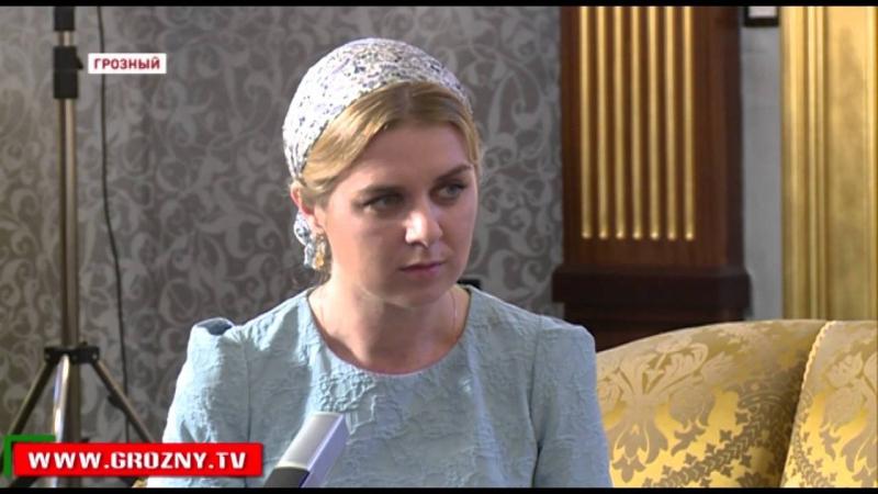 Рамзан Кадыров ответил на вопросы журналиста Русской службы новостей