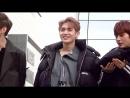 180317 Кюджин, Вэй и Сонюль @ Мини-фанмитинг после «Show! Music Core».
