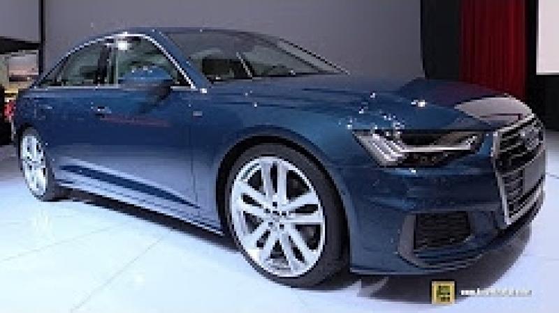 2019 Audi A6 50 TDI Quattro - Exterior and Interior Walkaround - Debut at 2018 Geneva Motor Show