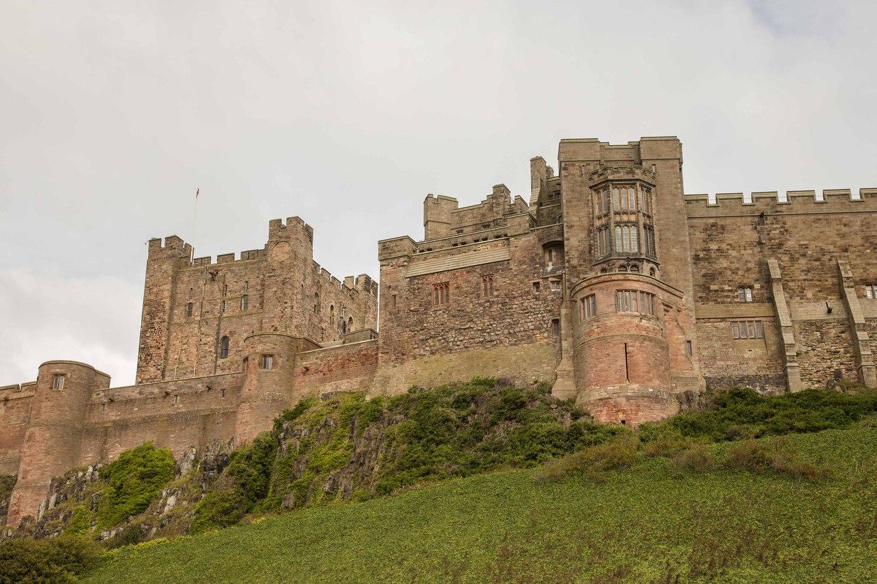 Замок Бамборо, Англия