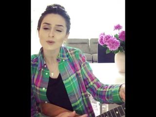 Чеченка красиво спела на Грузинском