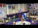 Показательно выступление отделения художественной гимнастики на открытии турнира по боксу