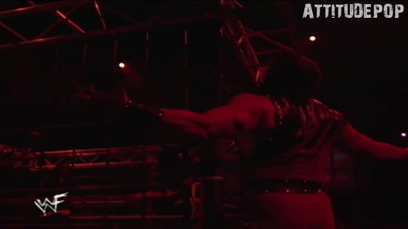 Austin,Big Boss Man, Undertaker,Kane In A Cage Raw 1998