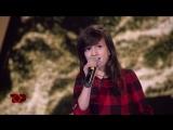 У девушки очень сильный голос песня - Me ty на шоу Голос Дети 2018