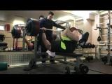 Мурад Алибегов - жим лежа 225 кг на 9