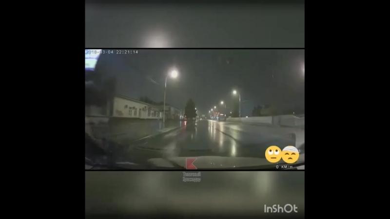Неудавшийся драг-рейсинг в Краснодаре