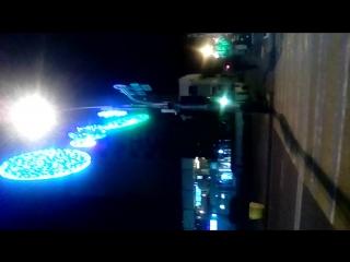 Краснодар. Улица Красная. Центр города. Играет песня певицы Мадонны (Madonna) 2017