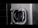 Настенная стиральная машина Полоскание и отжим