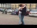 Кизомба Денис Галко и Ольга Седова open air 07 17