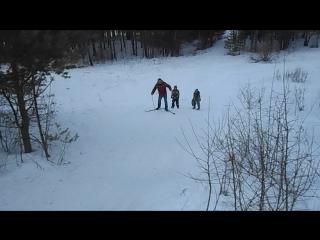 Лыжный десант или крутое пике 2018
