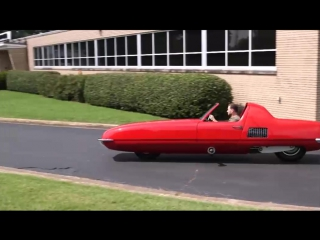 gyro-x. Двухколесный автомобиль с гироскопической стабилизацией был построен инженером Алексом Тремалисом 50 лет назад, в 1967 г