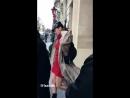 Белла покидает отель «Royal Monceau», Париж (28.02.18)
