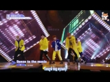 FSG FOX Idol Producer Group B - Dance To The Music рус.саб