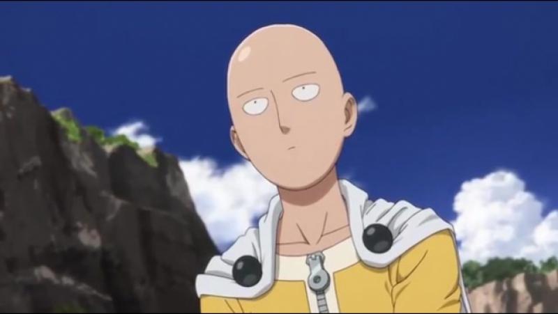 Момент из 5 серии аниме Ванпанчмен / Wanpanman