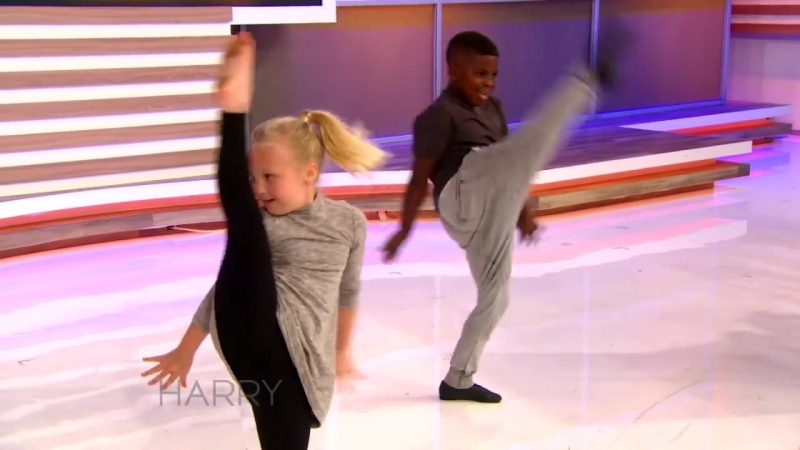 Amazing Kids Dance Duo Artyon and Paige