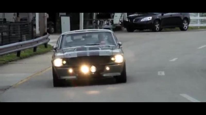 [v-s.mobi]Ford mustang из фильма Угнать за 60 секунд! Ford Mustang Shelby GT 500 1967.То самое авто!.mp4
