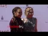 Maddie Ziegler and Carly Rae Jepsen LEAP! Premiere Red Carpet
