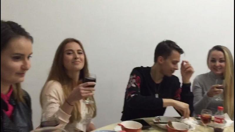 Китайский Новый год 15.02.18 в Китайской семье с друзьями