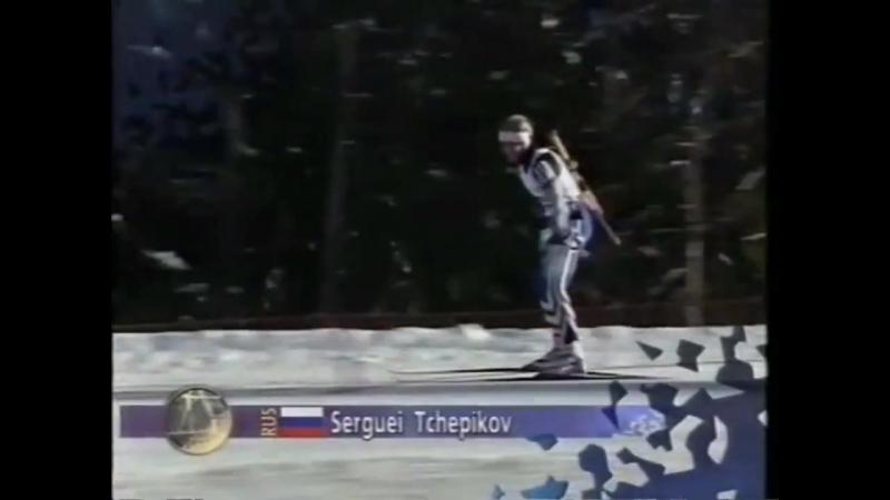 Биатлон-1994. Олимпийские Игры в Лиллехаммере. Спринт. Мужчины