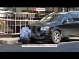 Водитель пытался подменить госномер своей машины в самом центре Москвы