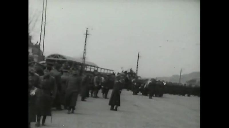 Последний парад белой армии.Last parade of white army.