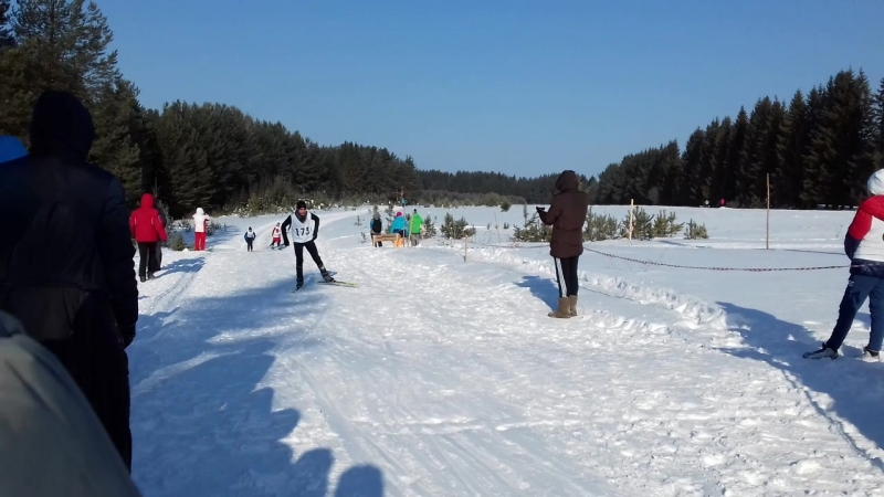 Зимний фестиваль ГТО, лыжи, г. Кудымкар