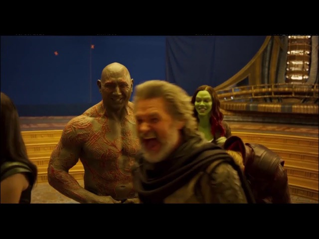 Guardians of the galaxy 2 - Bloopers