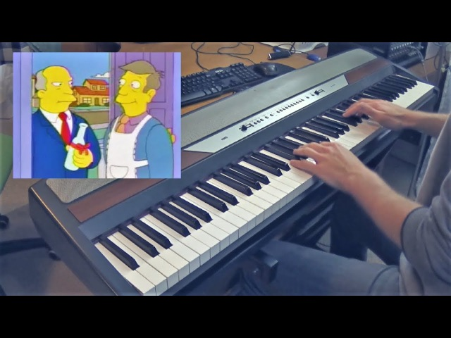 Steamed Hams But Its A Piano Dub