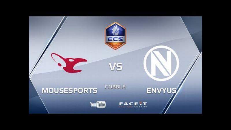 Mousesports vs EnVyUs, cobble, ECS Season 4 Europe