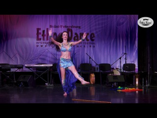Latifa - Teachers' Party, 6th International Oriental Dance Festival «Ethno Dance-2017»