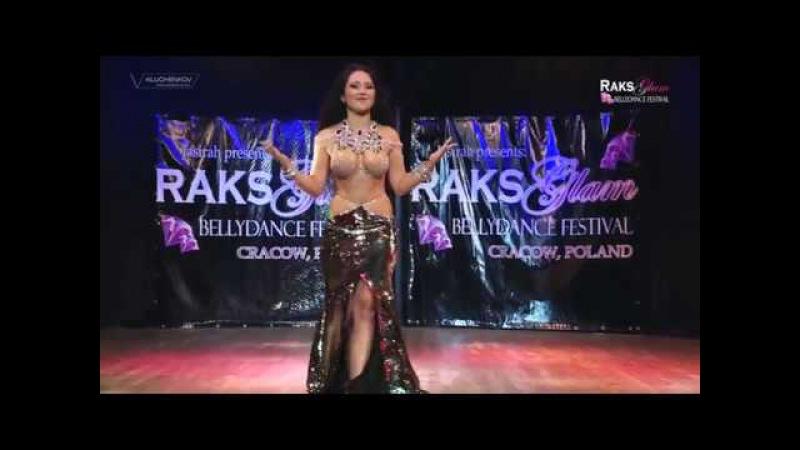 RAKS GLAM FESTIVAL 2017 - Gala Show - Yana Kruppa pop song