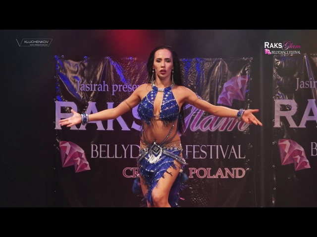 RAKS GLAM FESTIVAL 2017 - Ekaterina Oleynikova - tabla solo